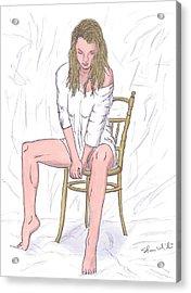 Agnieszka Acrylic Print by Steven White