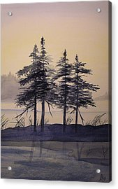 Aguasabon Trees Acrylic Print