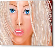 Aguilera Beautiful Acrylic Print
