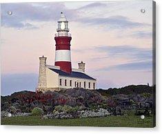 Agulhas Lighthouse Acrylic Print by Tom Hudson