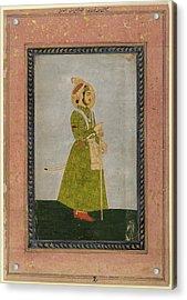 Ahmad Shah Acrylic Print by British Library