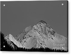 Ahornspitze After Midnight Acrylic Print