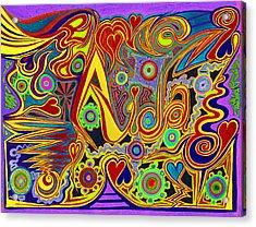 Aida 6  Acrylic Print by Kenneth James