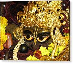 Aindra's Baba Shyamasundar Acrylic Print by Lila Shravani