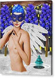 Aingeal Acrylic Print by Keith Dillon