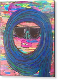 Ain't Even Worried About It Acrylic Print by LaRita Dixon
