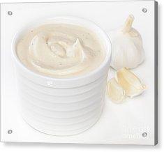 Aioli Garlic Mayonnaise Acrylic Print by Colin and Linda McKie