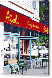 Aioli Acrylic Print by Paul Guyer