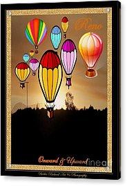 Air Balloons Reno Acrylic Print by Bobbee Rickard