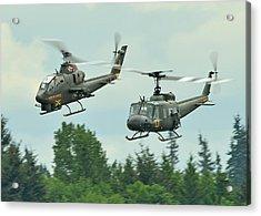 Air Cav Acrylic Print