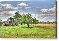 Air Conditioned Barn Acrylic Print by Douglas Barnett