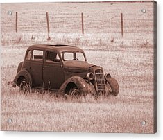 Air Conditioned Comfort Acrylic Print