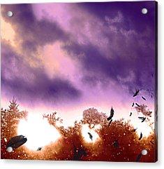 Air Element Acrylic Print