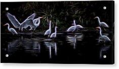 Air Elementals 3 Acrylic Print