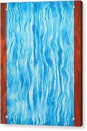 Air Flow Acrylic Print by Tom Hefko