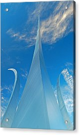 Air Force Memorial Acrylic Print by Michael Donahue