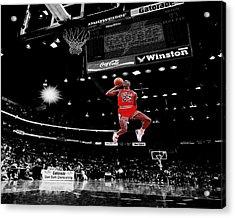 Air Jordan Acrylic Print