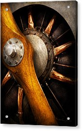 Air - Pilot - You Got Props Acrylic Print by Mike Savad