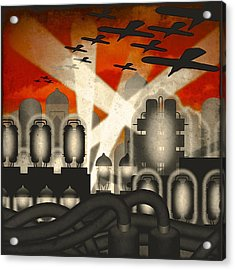 Air Raid Acrylic Print