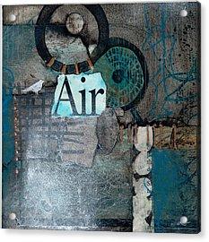 Air Sign  Acrylic Print by Laura  Lein-Svencner