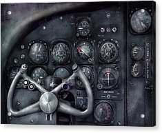 Air - The Cockpit Acrylic Print