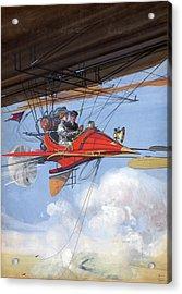Air Travel, C1905 Acrylic Print
