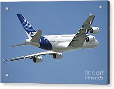 Airbus A380 Prototype In Flight Acrylic Print