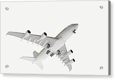 Airbus Flying Acrylic Print