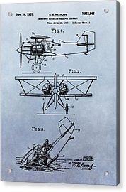 Aircraft Emergency Gear Acrylic Print by Dan Sproul