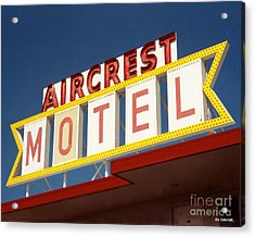Aircrest Motel  Acrylic Print