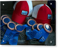 Aire Cap Prizes Acrylic Print by Britt Runyon