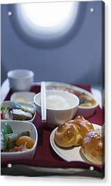 Airline Meal, Business Class Acrylic Print by Shui Ta Shan