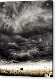 Airplane Acrylic Print by Bob Orsillo