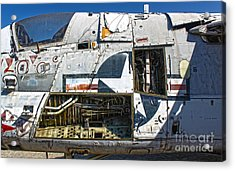 Airplane Graveyard - 07 Acrylic Print by Gregory Dyer