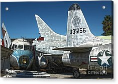 Airplane Graveyard - 19 Acrylic Print by Gregory Dyer
