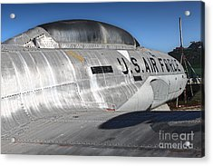 Airplane Graveyard - 04 Acrylic Print by Gregory Dyer