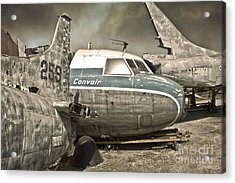 Airplane Graveyard Acrylic Print by Gregory Dyer