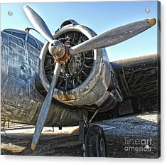 Airplane Propeller - 04 Acrylic Print by Gregory Dyer