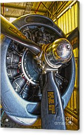 Airplane Propeller - 06 Acrylic Print by Gregory Dyer