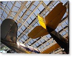 Airplane Rudders Acrylic Print
