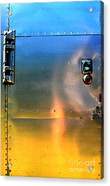Airstream Sunset Acrylic Print