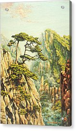 Airy Mountains Of China Acrylic Print by Irina Sumanenkova