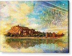 Ait Benhaddou  Acrylic Print by Catf