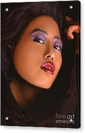 Aiya Acrylic Print by Jeff Breiman