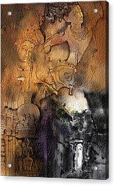 Ajantha Acrylic Print by Nm