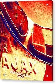 Ajax Acrylic Print by Wendy J St Christopher