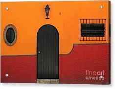 Ajijic Door No.4 Acrylic Print