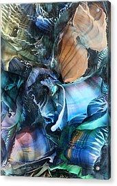 Akashic Memories From Subsurface Acrylic Print by Cristina Handrabur