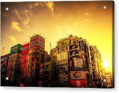 Akihabara Sunset Acrylic Print by SEOS Photography