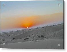 Al Ain Desert 12 Acrylic Print